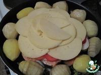 Форель с сыром ингредиенты