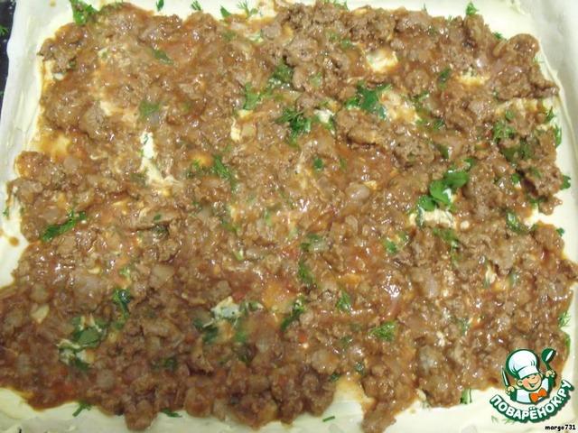 лазанья рецепт слоеное тесто