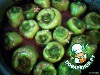 Перец болгарский, фаршированный грибами ингредиенты
