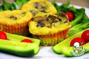 Рецепт Фриттаты с грибами и сыром