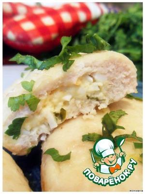 Рецепт Рыбные зразы с сыром