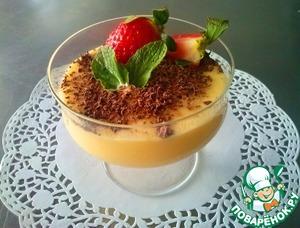 Рецепт Парфе из белого шоколада