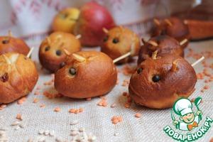 Пончики Мышки пошаговый рецепт приготовления с фото как приготовить