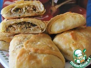 Рецепт Ргаиф-марокканские слоеные блинчики