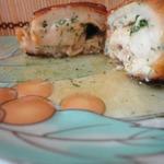 Котлеты по-киевски в сырной панировке