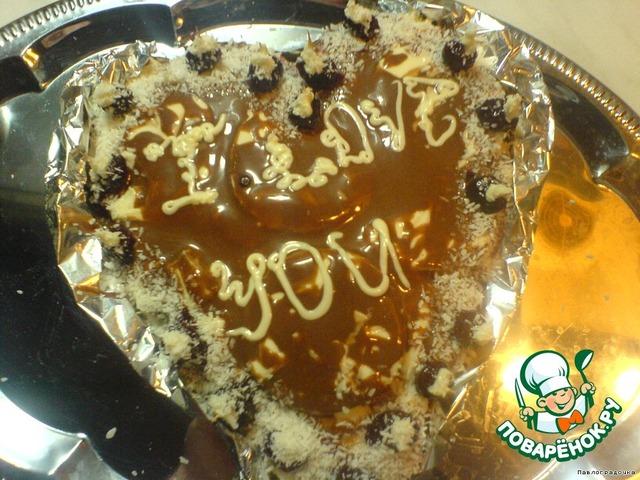 """Готовим Торт """"Валентинов день"""" простой рецепт приготовления с фотографиями #7"""