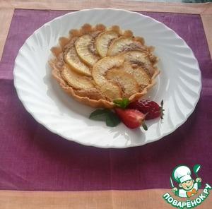 Пай (тарт) с фруктами и миндальным кремом пошаговый рецепт приготовления с фото готовим