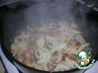Фунчоза с грибами и овощами ингредиенты