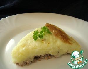 Рецепт Французкая запеканка с картофелем и мясом