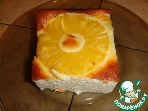 Запеканка с ананасами пошаговый рецепт с фото готовим
