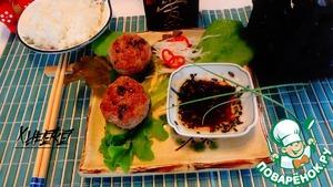 Рецепт Котлеты в азиатском стиле