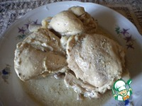 Курица в кефире ингредиенты