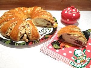 Пирог с меренгой, орехами и шоколадом вкусный рецепт с фото пошагово