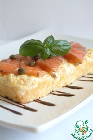 Рецепт Воздушная сырная лепешка для завтрака, обеда, ужина