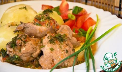 «Чахохбили» по упрощенке в мультиварке – кулинарный рецепт