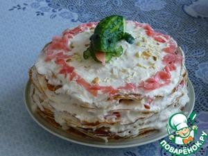 Рецепт Торт-салат «Крокодил»