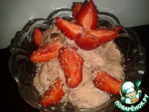 Рецепт Клубничное мороженое или ягодное мороженое