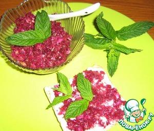 Рецепт Тосты со сладкими лепестками чайной розы и мятой
