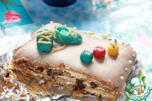 Марципан для торта фото рецепт