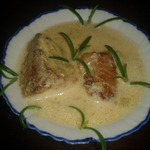 Пикантный соус-подлива с мясом и хреном