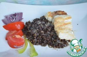 """Рецепт """"Черное и белое"""" или рыбка по-тайски с чечевицей по-мюнхенски"""