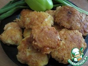 Рецепт Куриные наггетсы в сырной обсыпке