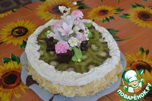 Любимый торт моей семьи домашний рецепт с фото готовим