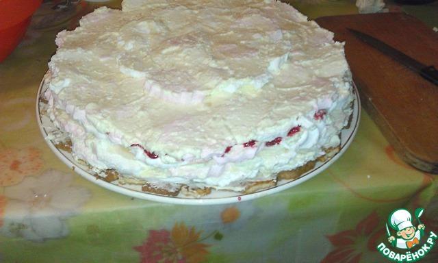 Как сделать зефирный торт в домашних условиях