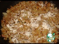 Крученики в ароматной подливке из белых грибов ингредиенты