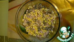Рецепт Мужской салат