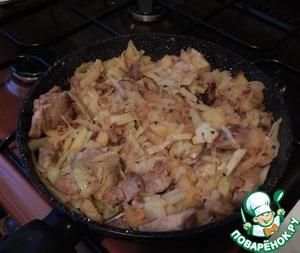 Рецепт Рагу со свининой (лжебигус)