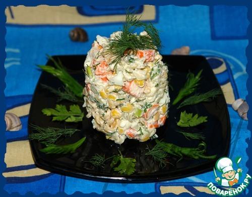 поваренок салаты из крабовых палочек рецепты