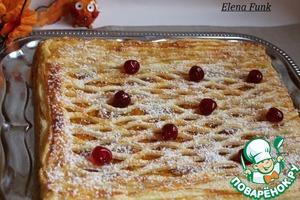 Рецепт Слоеный пирог с тыквой