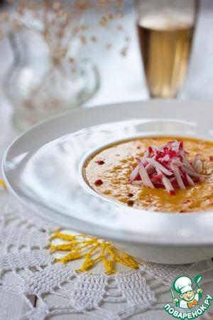Рецепт Кукурузный суп с крабовыми палочками