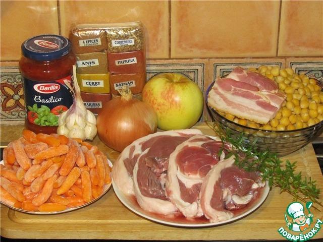 Как приготовить жаркое с курицей в духовке в горшочке в духовке