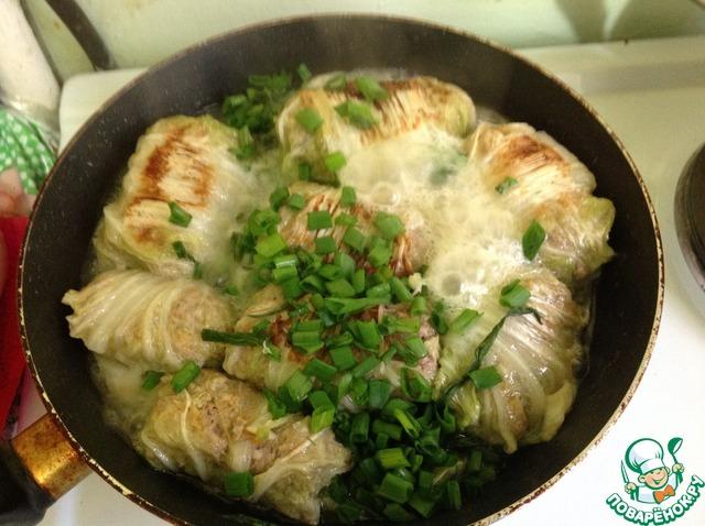 горячие блюда из китайской капусты