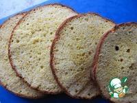 Апельсиновый бисквит для торта ингредиенты