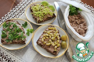 Рецепт Бутербродная паста из тунца