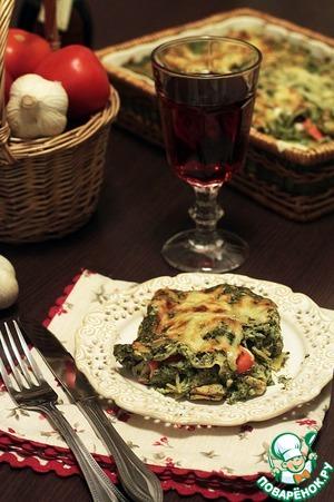 Рецепт Восхитительная рыбная лазанья
