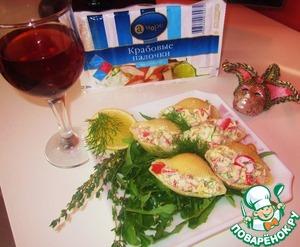 """Рецепт Итальянские ракушки """"А море Italiano"""""""
