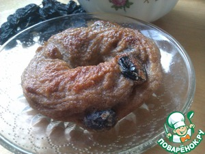 Рецепт Cinnamon raisin bagel (постные американские булочки)