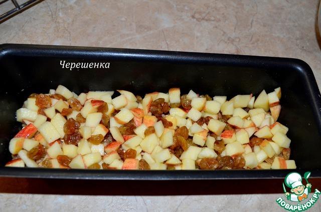 яблоки с йогуртом в духовке рецепт
