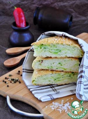 Рецепт Фоккача с водорослями
