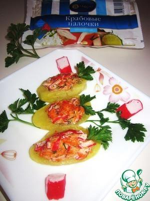 Крабовые лодочки с сёмгой рецепт с фотографиями как готовить