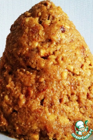 Рецепт Классический торт «Муравейник» с кремом из вареной сгущенки