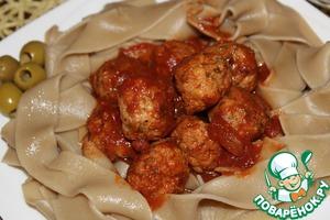 Рецепт Тефтели в итальянском стиле