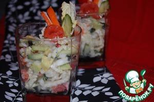 Рецепт Калифорнийский суши-салат