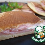 "Бутерброд а-ля ""Крок Макдо"""
