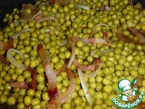 Рецепт Тушеный зеленый горошек по-итальянски