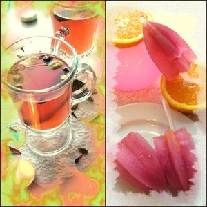 Рецепт Безалкогольный глинтвейн: горячий коктейль или фруктовый лед